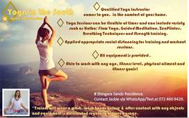 Yoga Sessions in your Home