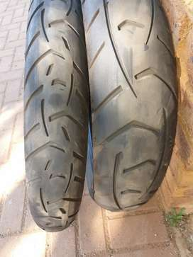 BMW R1150GS Bike Tyres Set