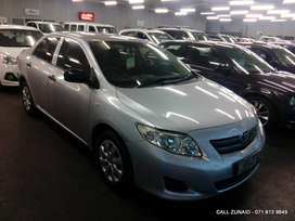 2010 Toyota Corolla 1.3 Impact, Silver with 170000km available now!