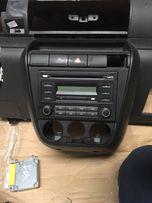 VW Fox włącznik świateł awaryjnych