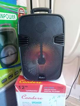 12inch wireless Bluetooth speaker comes with remote