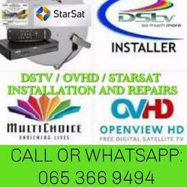 DSTV / STARSAT / OVHD INSTALLS AND REPAIRS