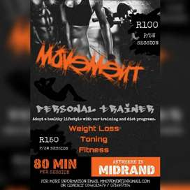 Personal training in Midrand