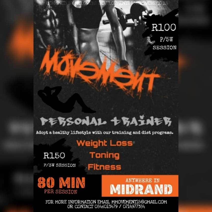 Personal training in Midrand 0