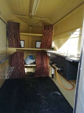 Food trailer for sale contact George