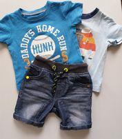 Шорты и футболки на мальчика