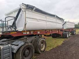 TOP TRAILER SUPERLINK SIDE TIPPER TRAILER