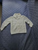 Sweterek ecru 6-9 m 68-74 cm
