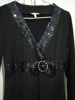 платье с паетками р 46