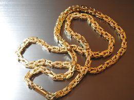 Piękny złoty łancuszek królewski 585 14k idalny prezent pod choinke