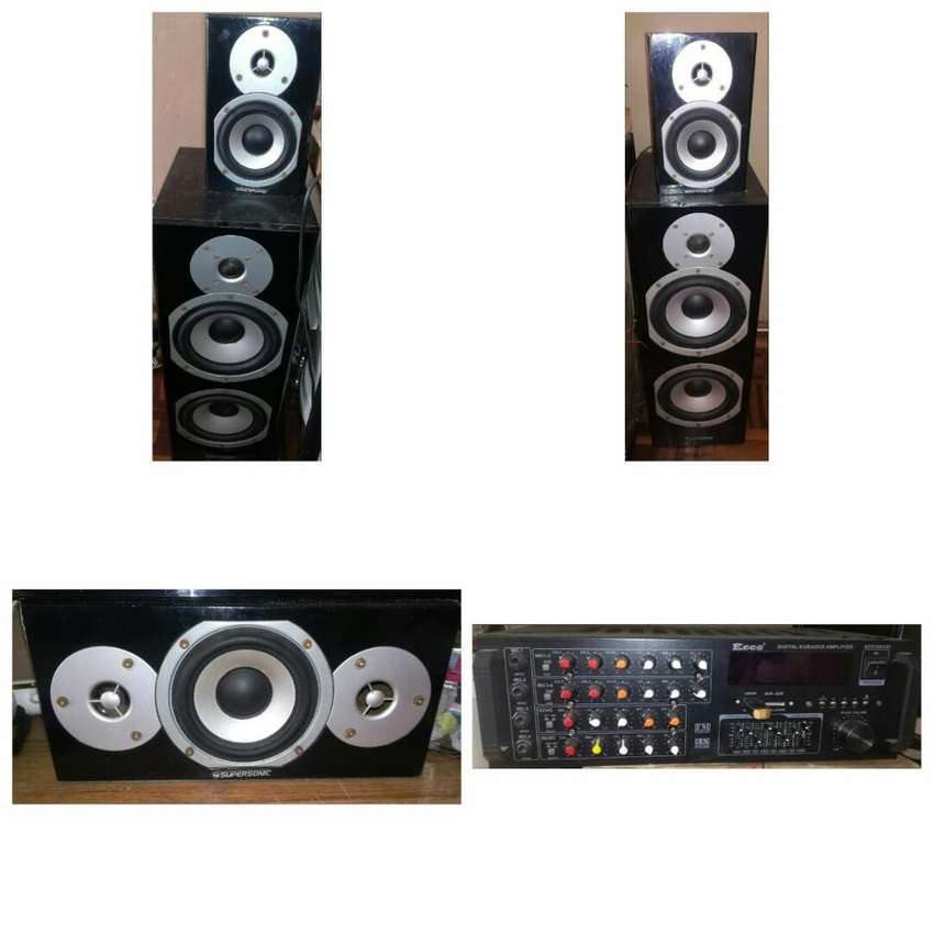 5speakers and 1 amp 0