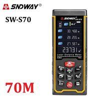 Sndway SW-S70 (70 метров) Лазерная рулетка/лазерный дальномер