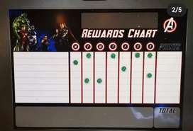 Hulk magnetic rewards chart