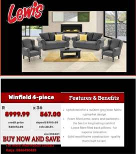4- piece couch set