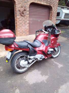 Bmw R1150 rt.  start and go