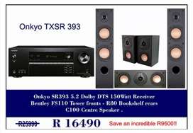 Onkyo & Bentley Acoustics Set