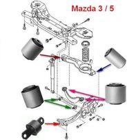 Сайлентблоки Mazda 3(BK); Ford Focus; Mazda 5(CR); Volvo S40/V50/С30