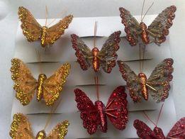 Продам. Бабочка декоративная ( для декора и др. ) размер - 5х4 см.
