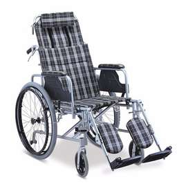 Lightweight Recliner Wheelchair, Aluminium Frame. On Sale, FREE DELIVE