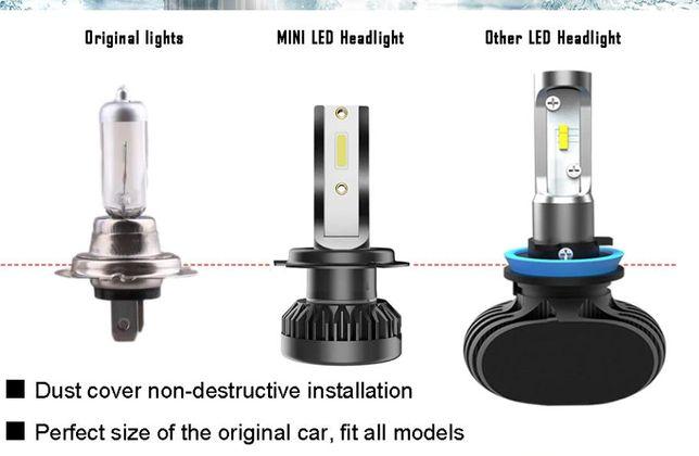 LED лампа H7 (H4 H1 H11) ближний свет, светодиодные ПРОТИВОТУМАНКИ Кривой Рог - изображение 5