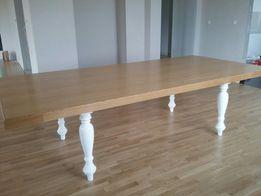 Duży stół do jadalni 282x132 styl prowansalski