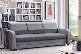PROMOCJA OKAZJA kanapa sofa rozkładana z kieszonkami pojemnik BONEL