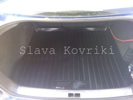 Ковер в багажник Volkswagen Jetta 00-05-2010-17коврик фольцваген джета
