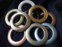 Люверсы кольца для штор, гардин, тюли в ассортименте