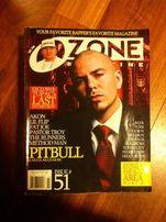 OZONE Magazyn hip-hop Rap 2 Pac Pitbull Akon Lil Flip Method Man Fat
