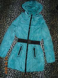 пуховик-пальто (зима)на 128-140см+подарки