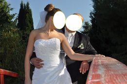 Sprzedam śliczną suknię ślubną Annais Bridal model RINA rozmiar 36-38