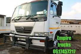 NISSAN UD80 8ton chassis cab truck on sale