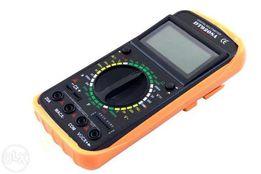 Мультиметр тестер вольтметр цифровой DT9207A 9208