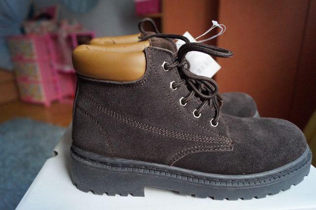Ботинки для девочки и мальчика зимние замша, новые р,35,36,37,38,39,40 Киев - изображение 5