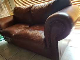 Water buck Leather Couches