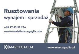 Rusztowania elewacyjne, modułowe Marcegaglia WYNAJEM/SPRZEDAŻ/MONTAŻ