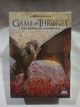 Game of thrones complete DVD collection