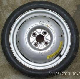 VW Spare Wheel and Tyre