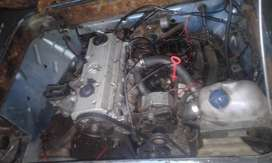 2l vw motor with complete microbus conversion kit