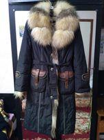 Пальто пуховик зима