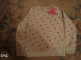 Bluzeczka dziewczęca HM-rozm 122/128,spodnie