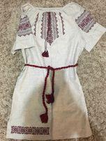 Платье вышиванка!