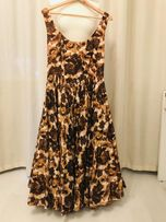 Шелковое пышное платье в стиле ретро Asos Salon