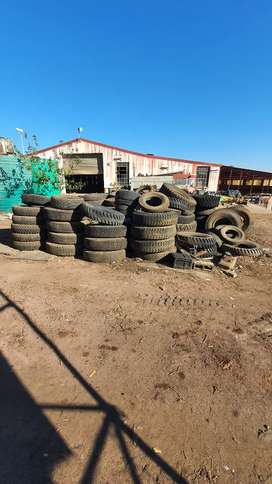 +- 130 New Truck and tractor Tyres