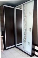Шкафы - купе угловые приставные 1200 х 1800 х 2400