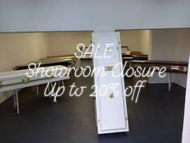 Solid Wood & Mdf Dome & Raised Lid Caskets for Sale