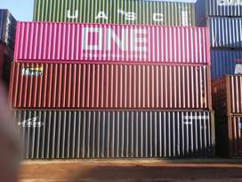 Wind and watertight 40 foot shipping storage containers for sale