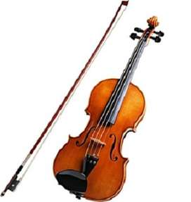 """Zeff Viola 16.5"""" with bow and case new"""