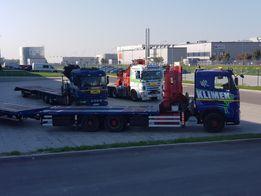 Transport Gabarytów,kontenerów 12m z załadunkiem,usługi HDS 20t
