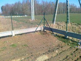 Ogrodzenia z siatki paneli na podmurówce oraz bramy i furtki